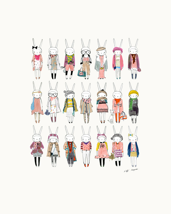 kimix:  Fifi Lapin - More BIG prints