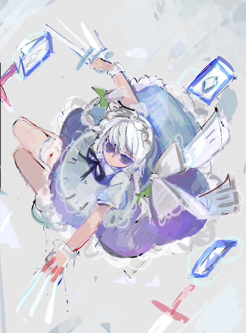 self reminder to dynamic pose sakuya as playable since PoFV I'M ASKSJDK;A DYING FOR REITAISAI