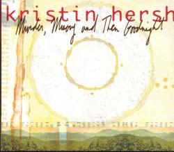 Kristin Hersh. Murder, Misery and Then Goodnight (4AD, 1998) CD front cover. design by Dave Narcizo