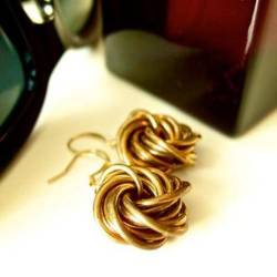 Love Knot Earrings By Jeannie Richards $35.00 USD Buy them now at Fashiontribe.tumblr's new online shop www.consignd.com/shop/fashiontribe-tumblr