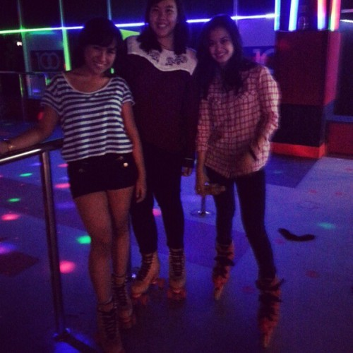 Roller girls instagram version :p @andiskaf @ddbrns