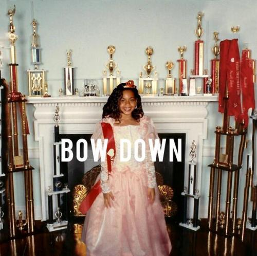 Beyoncé's got a new track. Forget those participation trophies on the cover art, check out the new song, Bow Down, here.