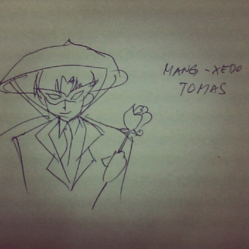 Ian's #drawing! Mang-xedo tomas! #sailormoon #anime