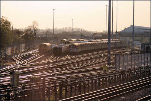 TFL Ruislip depot. by (Mick Baker)rooster on Flickr.