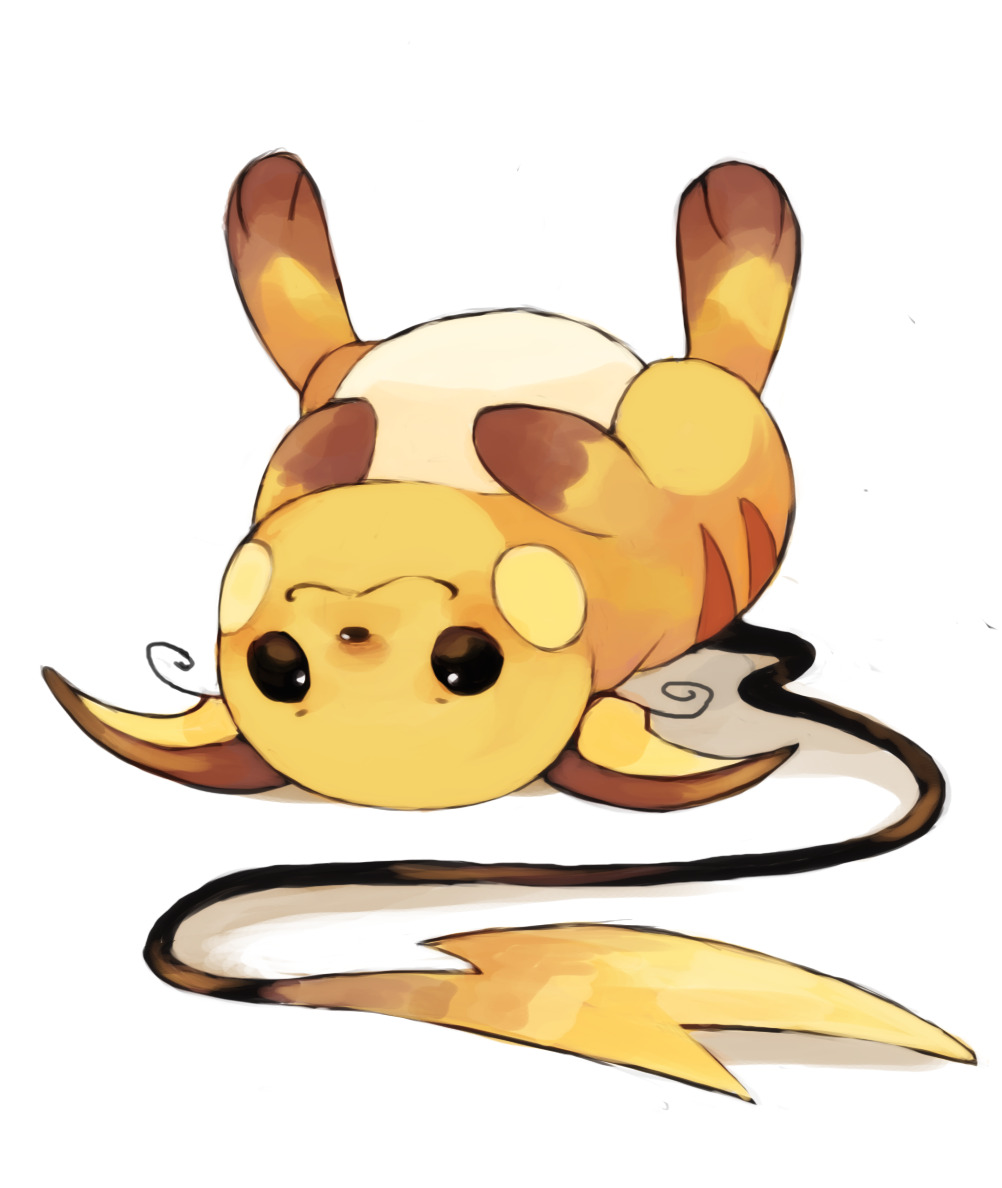 yellowfur:  feels like I havent drawn for ages have some chubby raichu