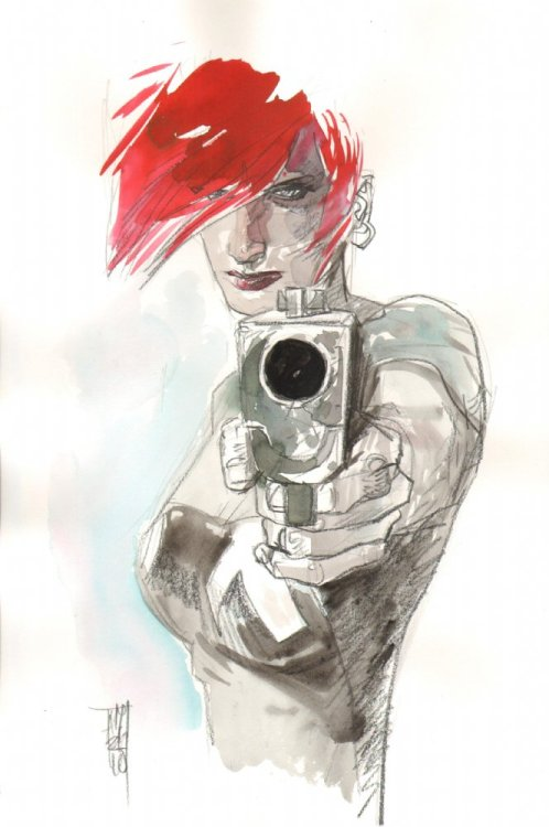 Scarlet by Alex Maleev