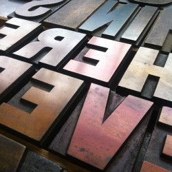 Friday is type setting day by anthonyburrill http://bit.ly/10lo00q