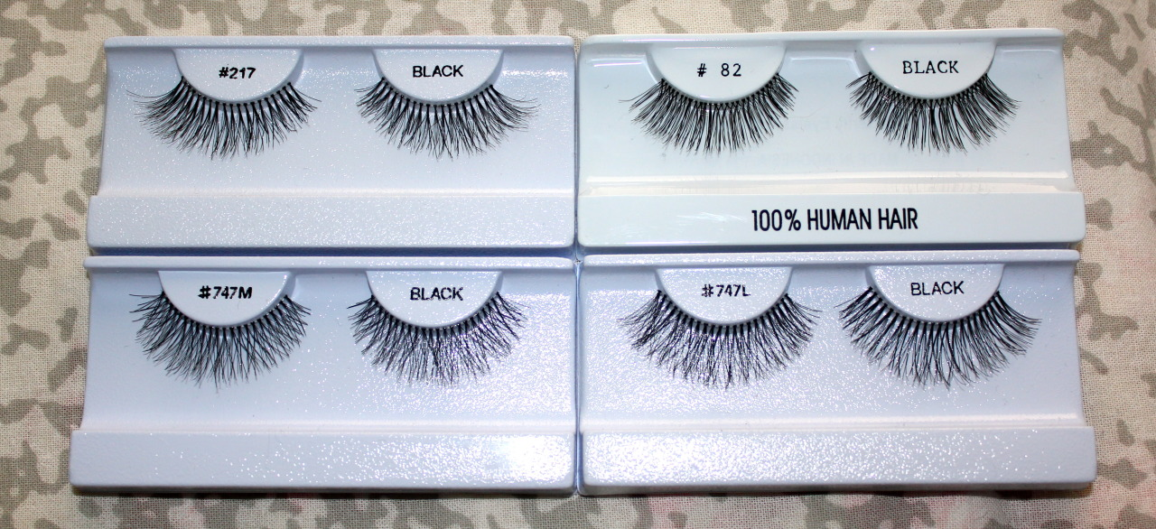 I recently bought some lashes, these are some of my favorite styles.