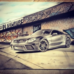 Airbrushed AMG