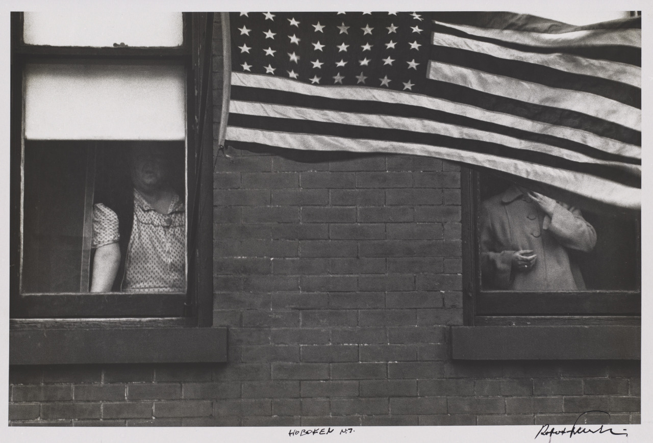 Hoboken, New Jersey, 1955, by Robert Frank.