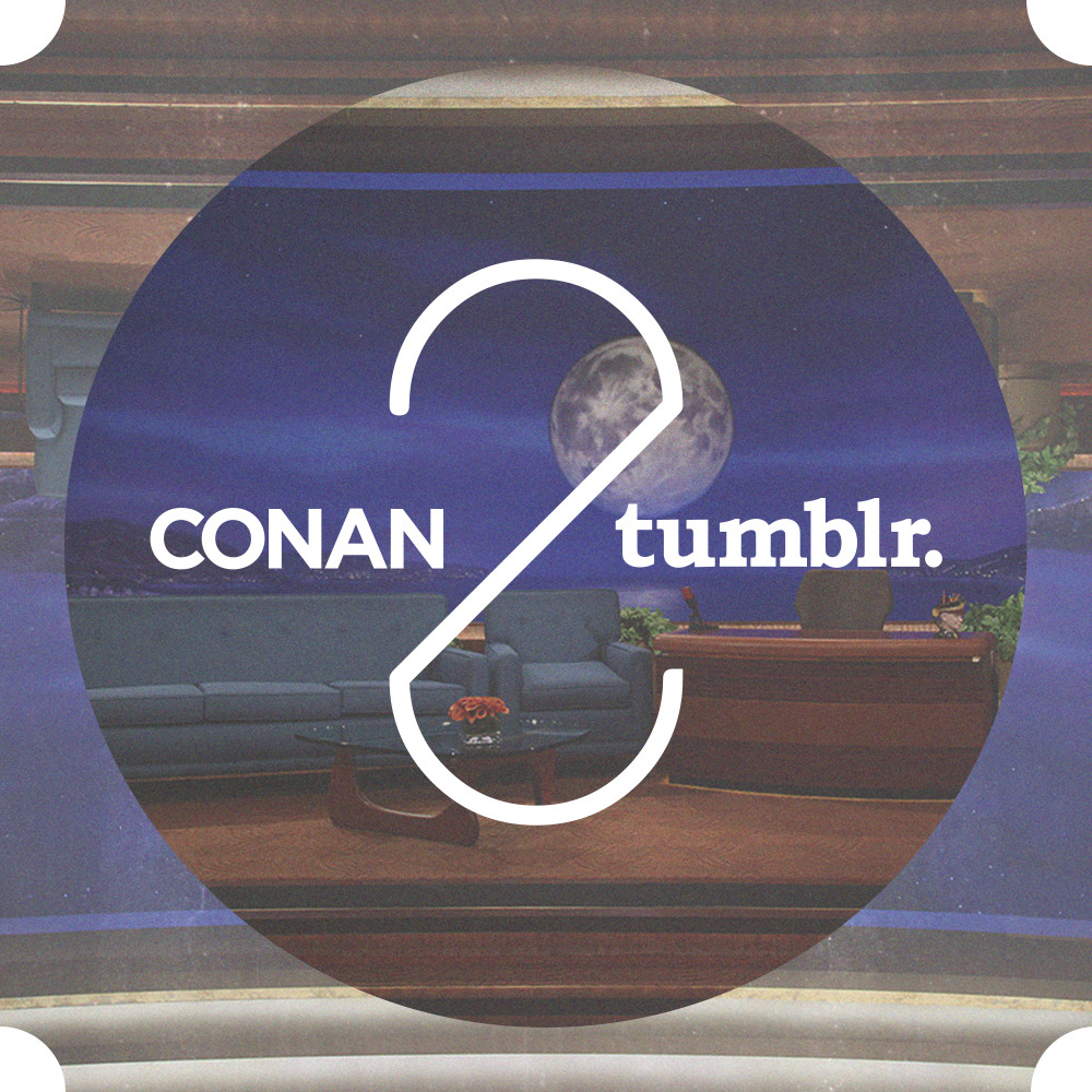 mattkipper:  Introducing the official Conan O'Brien Tumblr 2.0 Working at Team Coco Digital back in 2010, I helped launch Conan's Tumblr to coincide with the debut of his new TBS show. Now I live 3,000 miles away in New York, but still keep in touch with the crew back in Burbank. Recently, when they rolled out a rad redesign of teamcoco.com, I thought it'd be fun to build an all-new theme from scratch as a weekend project. The site is now live and I'm very proud of a few features that most users will probably never notice: retina optimization, a custom responsive framework, a JQuery post viewer I hacked together, and the best damned Open Graph implementation I've ever seen on a Tumblr theme.  Take a look, and be sure to click the Follow button: teamcoco.tumblr.com