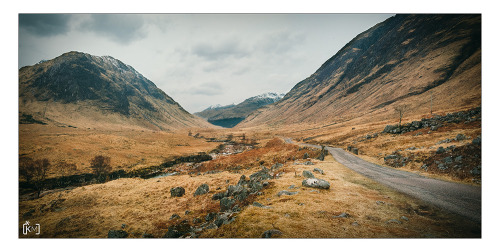 James Bond's view of Glen Etive