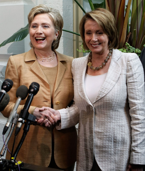 txn:  Hillary Clinton and Nancy Pelosi