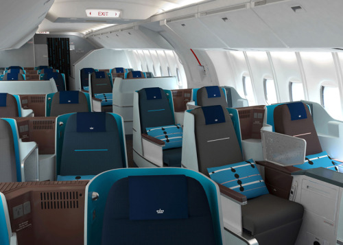 KLM's new Diamond Business Class