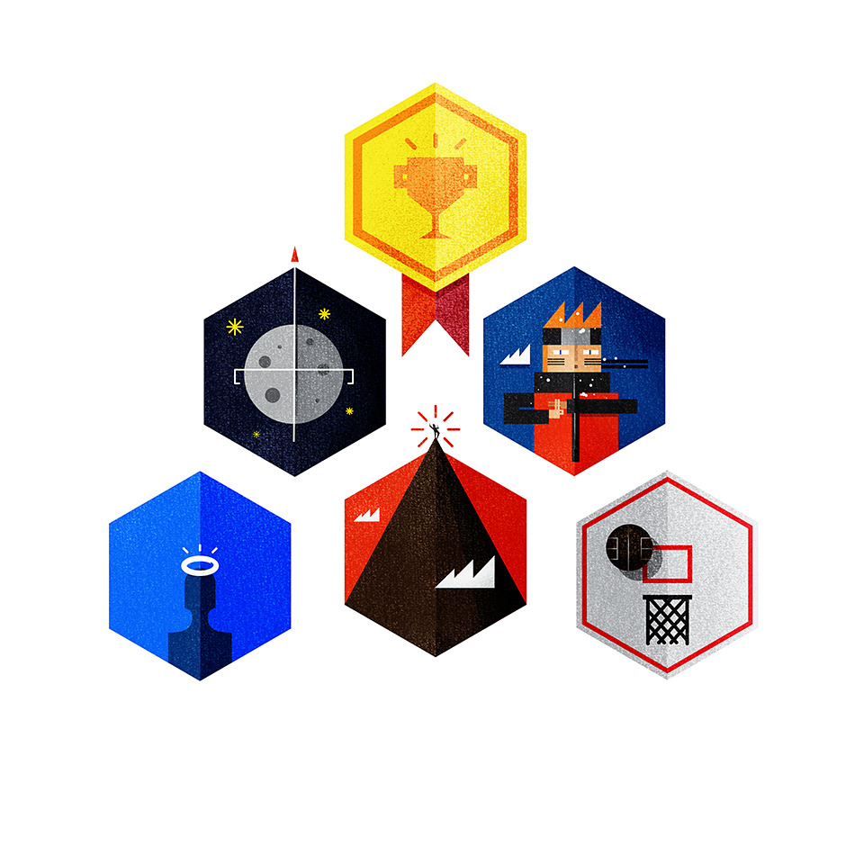 twistedfork:  I did this icons for my presentation in Visual. :) Top-Bottom, Left-Right1. Always do your Best2. Don't forget your Dreams3. Work Harder4. Be Nice5. Take Risks6. Have other Interests
