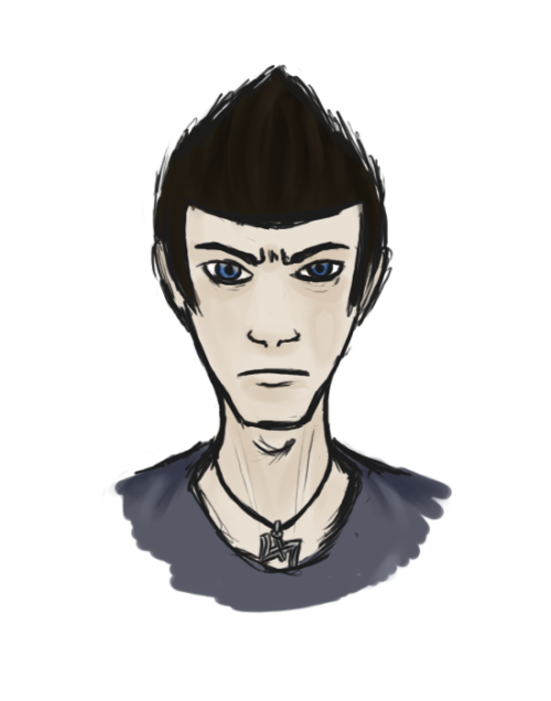 playing-a-life:  just a quick sketchy humanstuck   trollstuck jean then