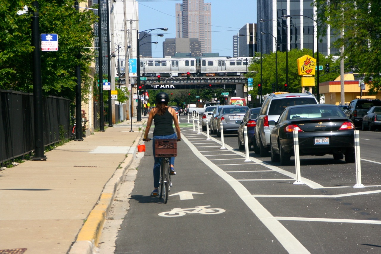 thisbigcity:  The Green Lane Project is bringing together six U.S. cities – Austin, Chicago, Washington D.C., Memphis, Portland and San Francisco – to build more protected bike trails. We interviewed Martha Roskowski - the project's Director.