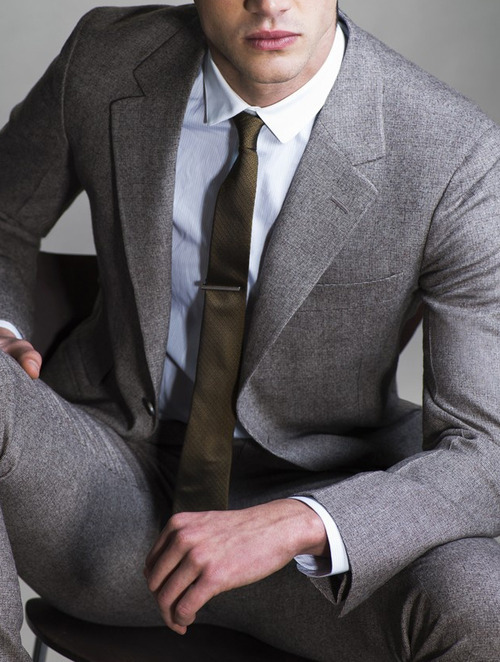 suitboss:  YSL wool suit & Burberry London's shirt and tie | If……More men's fashion.  Want.