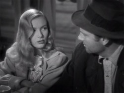 jonathanbogart:  Veronica Lake and Joel McCrea in Sullivan's Travels (1941)