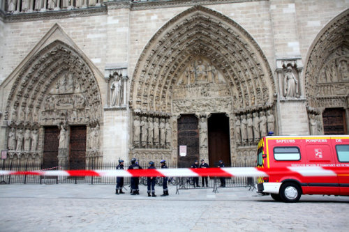 Far-right French historian commits suicide in Notre Dame in protest against gay marriage. So this happened yesterday.  Honestly people on the far-right in Europe are 10 times scarier than their counterparts in the US.  Just read about this guy's background at the link above.  Scary stuff.