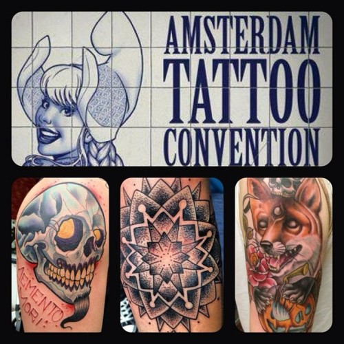 We'll be working on the Amsterdam Tattoo Convention - May 31 - June 2nd - come check us out!!!! @willemxsm @martian1966 @jerrrroen @rbsmith  @wildthingstattoo #tattoo #amsterdam #convention #wildthingstattoo #tattooexpo