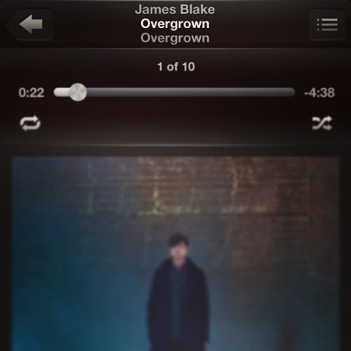 This is awesome #jamesblake #overgrown #song #electronic #james #blake
