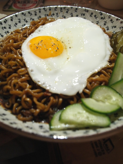 shelovesasianfood:  짜파게티 (by 키안)