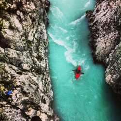 #kayak #soca #river #slovenia #igers #photooftheday