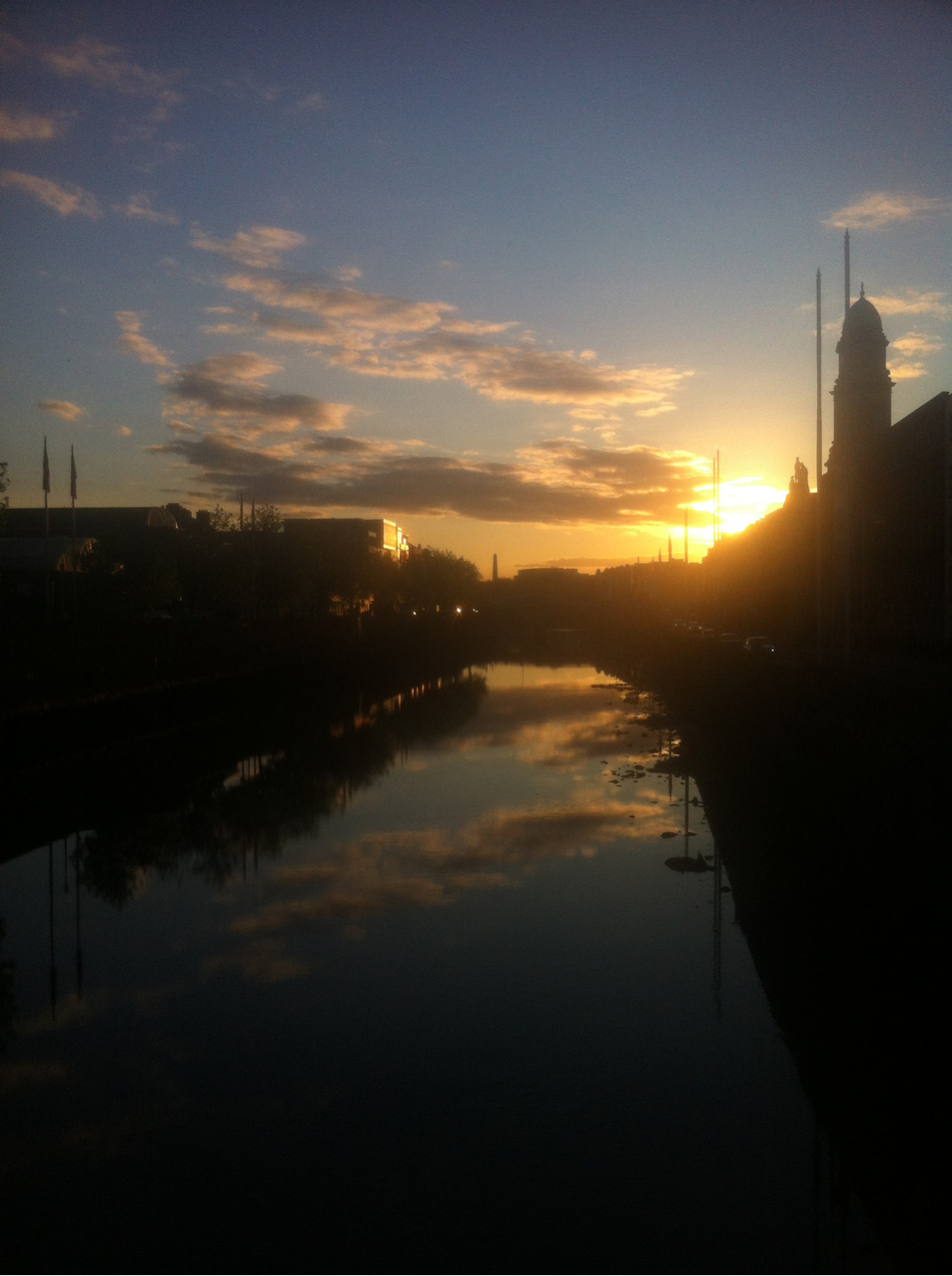 A sweet shot a luckily stumbled upon in Dublin