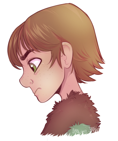 sbneko:  Finally! A good drawing of Hiccup. I've always had trouble with this guy, but I really like this.