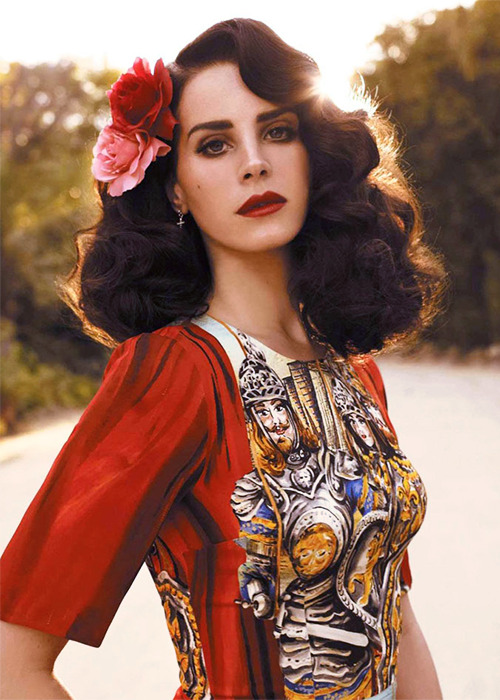 "Lana Del Rey by Nicole Nodland, for ""L'Officiel Paris"""