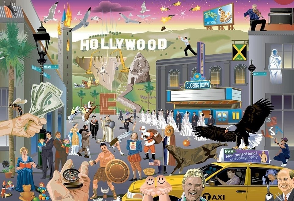 Can you spot the 50 hidden movie titles?