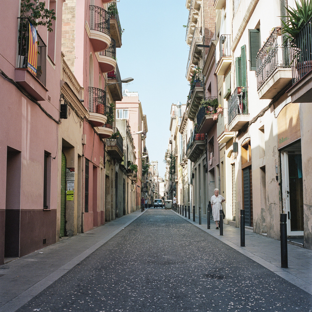 Barcelona, Spain.  If anyone happens to know the street, please chime in.