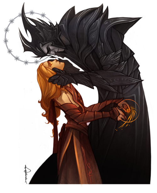 Melkor calls Mairon to a dark side