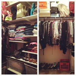 Spring Cleaning: Closet… ✔  (at Windsor at Liberty House)