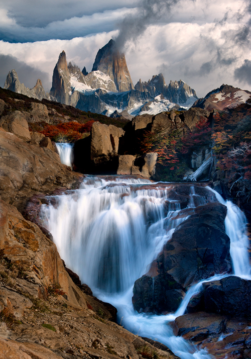ecocides:  Mt. Fitz Roy, Patagonia, Argentina | image by Doug Solis