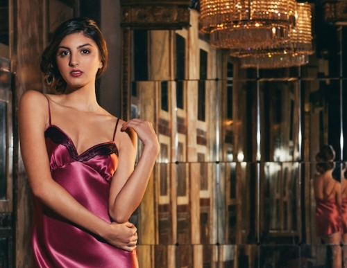 Valentine's Day Luxury Lingerie Giveaway: Win a Silk Slip from Angela Friedman!