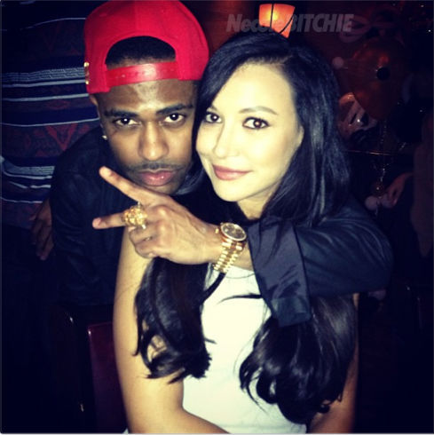 Oh… the full scoop: http://necolebitchie.com/2013/04/10/big-sean-goes-public-with-new-girlfriend-naya-rivera/