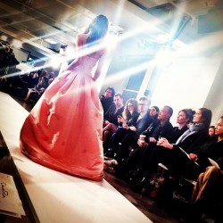 STUNNING. bergdorfgoodman:  Sometimes you must wear pink. #odlrlive