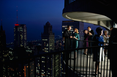 natgeofound:  Fifty-two stories high, city noises fade and vistas expand. Chicago, June 1967.Photograph by James L. Stanfield, National Geographic