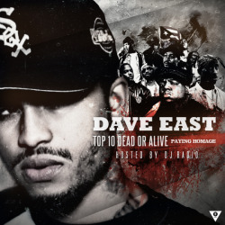 "DAVE EAST ""TOP 10 DEAD OR ALIVE : PAYING HOMAGE""COVER_ARTWORK. (2013)*Tool : Adobe Photoshop & After Effect CS 3"
