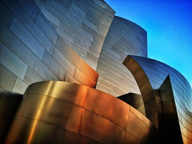 Frank Gehry Walt Disney Concert Hall Los Angeles