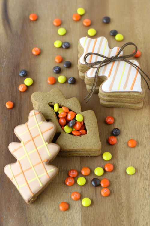 Thanksgiving Cookie Boxes