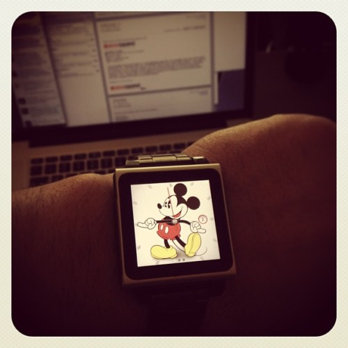 Going back to this watch. #ipodnanowatch