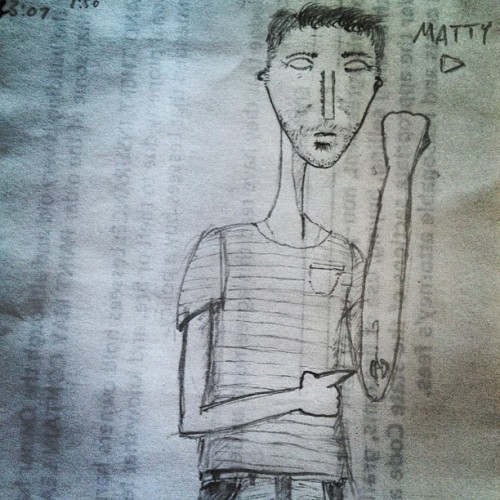 """Matty D"" by Matt's Thunder Road production assistant, Jupiter Baudot.  MDW main site . Twitter . Facebook Page . YouTube Channel . Pinterest"