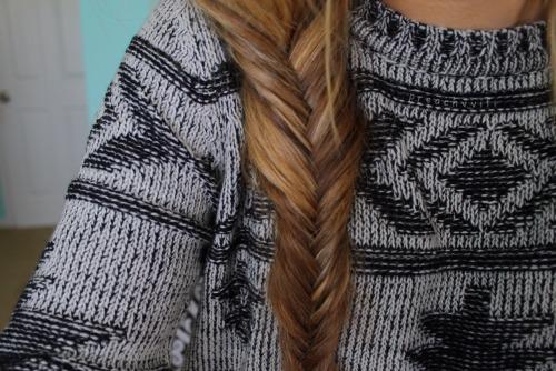 mine quality fishtail braid christmas