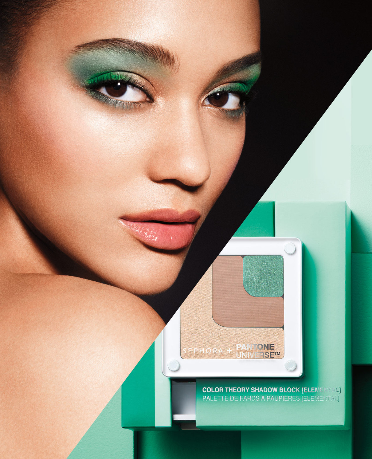 "SEPHORA HOT NOW: VOLUME 3 SEPHORA + PANTONE UNIVERSE COLOR GRID SHADOW BLOCK IN ELEMENTAL Sephora Head Merchant Margarita Arriagada on the power of wet/dry eyeshadow. SEPHORA + PANTONE UNIVERSE COLOR GRID SHADOW BLOCK IN ELEMENTAL: ""There are products out there that are too loose or too gritty, and this one feels angelic. It's a perfect shimmer for the lid. What's amazing is you can use it wet as a liner, just for a pop of color. Neutrals are hotter than ever, so this is a great way to help clients experiment."" SHOP COLOR THEORY SHADOW BLOCK AT SEPHORA ▸ MORE ON MARGARITA AND THE PANTONE COLOR OF THE YEAR ▸ FIND OUT ABOUT THE OTHER PRODUCTS IN OUR EMERALD SEPHORA HOT NOW ▸"