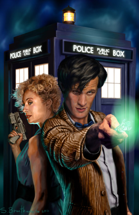 17xinfinity:  Doctor Who by *SBraithwaite