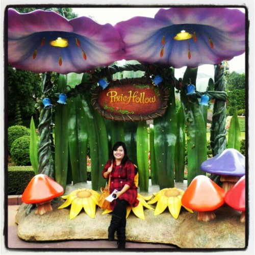 #tinkerbell house at #disneyland #hongkong
