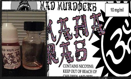 Maha Ras. The Red Gold Friom the insane mind of Mad Murdock comes Maha Ras This man has somewhat of a cult following going on because of the juices he has made, the biggest one to mention is Radiator Pluid. But his most recent being Maha Ras This juice….first off I want to know what inspired something so crazy. This juice is spicy yet somewhat sweet. Here is what I get from this juice….a whole lot of spices you might find at your local head shop, like incense, clove, cinnamon, patchouli, tea, flower berry. I ended that sentence with berry because that seems to be an undertone. It;s like Berry Incense but the berry flavor being subtle on the inhale but being more prominent on the exhale, while on both the inhale and exhale the spices i listed are always strong in this juice. This juice is not for everyone. I like it cause I like spicy complex flavors, for someone who likes a watermelon or a pineapple or even just a plain analog tasting juice, I will say try it but at your wallets own risk. This juice is not cheap, I payed $13 for 10ml and on top of that it is almost never in stock like most of Murdock's juices, and most of your are saying I can get a 15 ML bottle of juice from Nick's Nameberjuice.com for $3 cheaper at any time I want. If you want a complex flavor with a sweet bite and someting that has so many things going on at once, then this juice will be right up your alley. Thanks guys and have a good one.